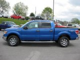 2011 Blue Flame Metallic Ford F150 XLT SuperCrew 4x4 #48099465