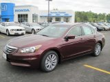 2011 Basque Red Pearl Honda Accord EX-L Sedan #48099863