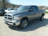 2005 Mineral Gray Metallic Dodge Ram 1500 SLT Quad Cab 4x4 #48167960