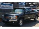 2005 Onyx Black GMC Sierra 1500 SLE Extended Cab 4x4 #48167966