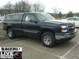 2006 Dark Blue Metallic Chevrolet Silverado 1500 LT Regular Cab 4x4 #48167833