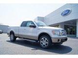 2011 White Platinum Metallic Tri-Coat Ford F150 Lariat SuperCab 4x4 #48167922