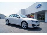 2011 White Suede Ford Fusion SE #48167923