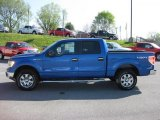2011 Blue Flame Metallic Ford F150 XLT SuperCrew 4x4 #48190034