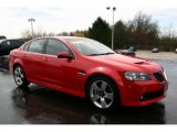 2009 Pontiac G8 Liquid Red