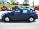 2012 Kona Blue Metallic Ford Focus SE SFE Sedan #48190038