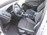 2012 Ford Focus SE 5-Door Charcoal Black Interior