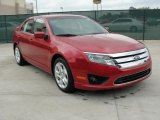 2011 Red Candy Metallic Ford Fusion SE #48194044