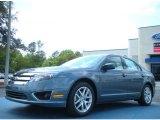 2011 Steel Blue Metallic Ford Fusion SEL #48193942