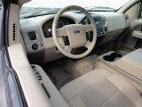 2005 Ford F150 XLT SuperCab 4x4 Medium Flint/Dark Flint Grey Interior