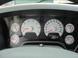 2008 Dodge Ram 1500 SLT Regular Cab Gauges