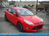 2012 Race Red Ford Focus SE Sport Sedan #48193975