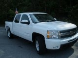 2009 Summit White Chevrolet Silverado 1500 LTZ Crew Cab 4x4 #48194334