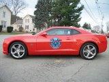 2010 Inferno Orange Metallic Chevrolet Camaro SS Coupe Indianapolis 500 Pace Car Special Edition #48193890