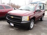 2009 Deep Ruby Red Metallic Chevrolet Silverado 1500 Regular Cab #48194227