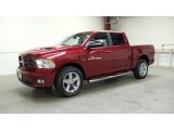 2011 Deep Cherry Red Crystal Pearl Dodge Ram 1500 Sport Crew Cab 4x4 #48194356