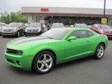 2010 Synergy Green Metallic Chevrolet Camaro LT Coupe #48194113