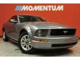 2007 Tungsten Grey Metallic Ford Mustang V6 Deluxe Coupe #48194154