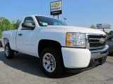 2011 Summit White Chevrolet Silverado 1500 LS Regular Cab #48233445