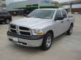 2011 Bright Silver Metallic Dodge Ram 1500 ST Crew Cab 4x4 #48233612