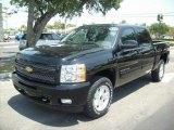 2011 Black Chevrolet Silverado 1500 LT Crew Cab 4x4 #48233315