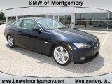 2008 Jet Black BMW 3 Series 328i Coupe #48233477