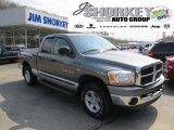 2006 Mineral Gray Metallic Dodge Ram 1500 SLT Quad Cab 4x4 #48233635