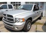 2005 Bright Silver Metallic Dodge Ram 1500 SLT Quad Cab 4x4 #48233788
