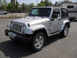 2011 Bright Silver Metallic Jeep Wrangler Sahara 4x4 #48233815
