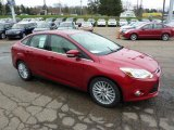 2012 Ford Focus Red Candy Metallic