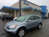 2009 Glacier Blue Metallic Honda CR-V EX-L 4WD #48233826