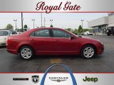 2010 Sangria Red Metallic Ford Fusion SE V6 #48233248