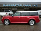 2010 Red Candy Metallic Ford Flex Limited EcoBoost AWD #48233533