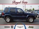 2002 Patriot Blue Pearlcoat Jeep Liberty Limited 4x4 #48233250