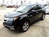 2011 Crystal Black Pearl Acura MDX Technology #48233597