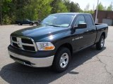 2011 Hunter Green Pearl Dodge Ram 1500 ST Quad Cab 4x4 #48233741