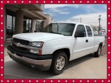 2003 Summit White Chevrolet Silverado 1500 LS Extended Cab #48268606