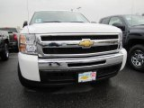2011 Summit White Chevrolet Silverado 1500 LS Crew Cab #48233362