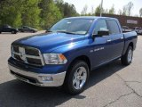 2011 Deep Water Blue Pearl Dodge Ram 1500 Big Horn Crew Cab #48233744