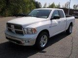 2011 Bright White Dodge Ram 1500 Big Horn Quad Cab #48233745