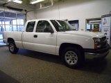 2005 Summit White Chevrolet Silverado 1500 Extended Cab #48268611