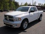 2011 Bright White Dodge Ram 1500 Big Horn Quad Cab 4x4 #48233747