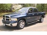 2004 Patriot Blue Pearl Dodge Ram 1500 SLT Quad Cab #48268801