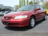 2002 Firepepper Red Pearl Honda Accord SE Sedan #48268441