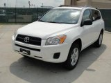 Super White Toyota RAV4 in 2011