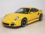 2007 Speed Yellow Porsche 911 Turbo Coupe #48267817