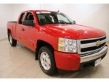 2008 Victory Red Chevrolet Silverado 1500 Z71 Extended Cab 4x4 #48268814