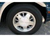 GMC Safari 2002 Wheels and Tires