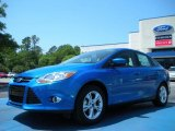 2012 Blue Candy Metallic Ford Focus SE Sport Sedan #48268472