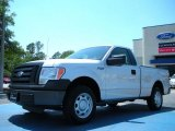 2010 Ingot Silver Metallic Ford F150 XL Regular Cab #48268480